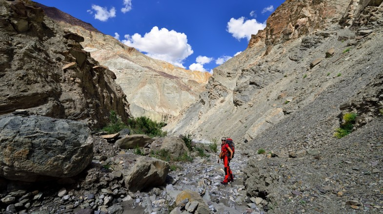The Markha Valley trek is one of the most popular hikes in India. Located in the northwestern Ladakh region, this area boasts breathtaking views & colorful villages.