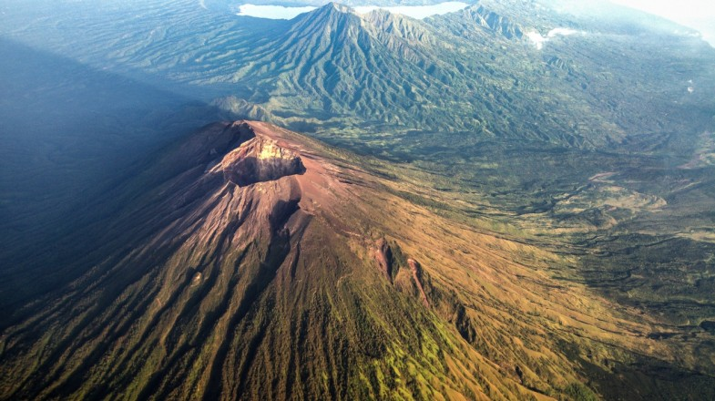 Mount Agung is one of the Indonesian volcanos that can be hiked