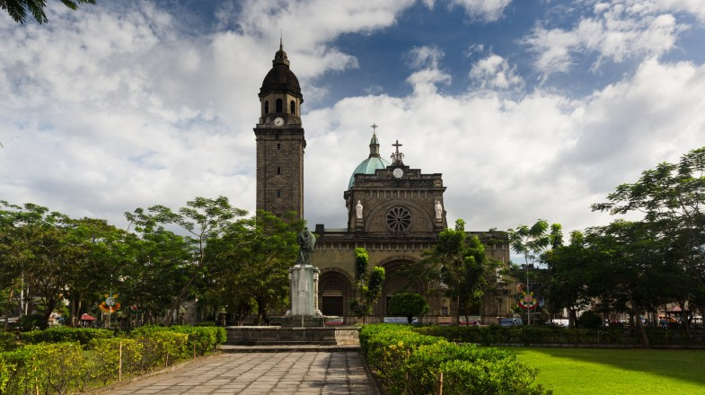 Intramuros, the historic centre and oldest district of Manila