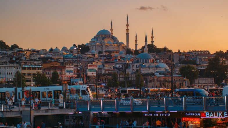 Istanbul is a mixture of both the old and the new city.