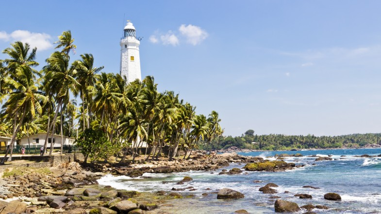 Sri Lanka is filled with lush landscapes and beautiful beaches.