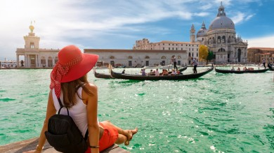 A gondola ride is one of the many things to do in Italy.