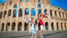 When you're on an Italy family vacation it is a must that you visit the Colosseum and learn the ancient history of Rome.