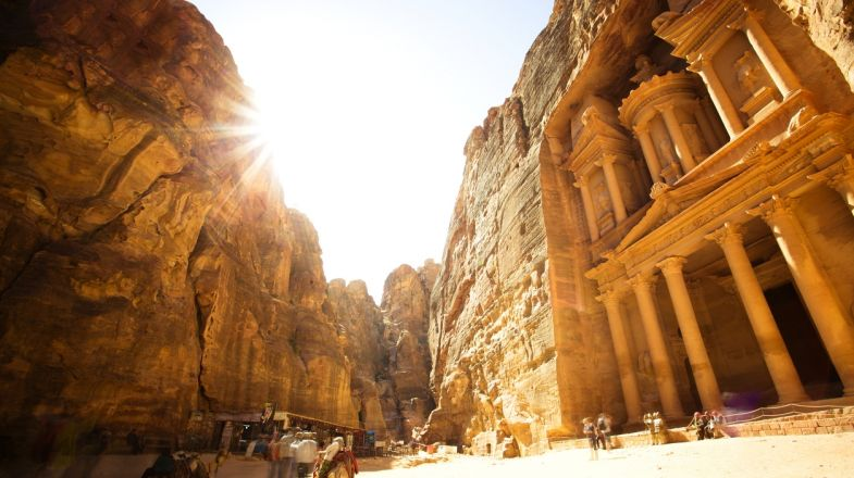 Holidays to Jordan will be incomplete without a visit to Petra