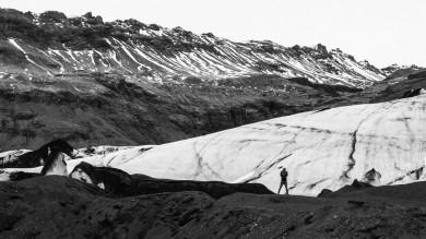 Katla volcano is an active volcano in Iceland