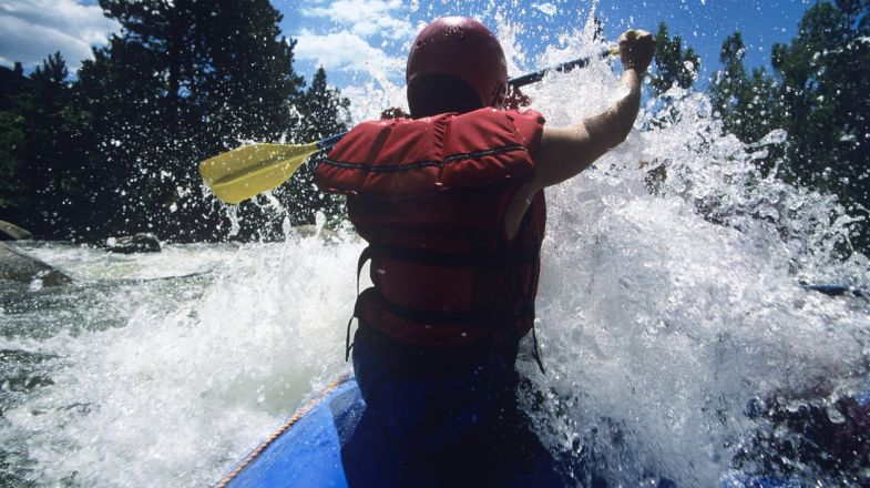 Chile has many whitewater kayaking opportunities, drawing many tourists just to kayak in Chile.
