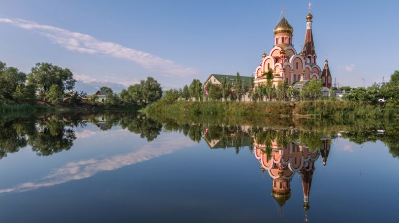 Plan a holiday to Kazakhstan to see the marvelous Russian architecture