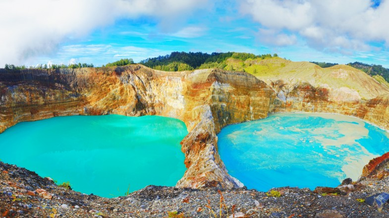 Flores Island in Indonesia is a far less touristy island compared to mainland Bali.