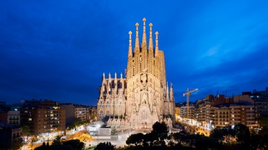 La Sagrada Familia is Barcelona's most famous tourist site, attracting millions of visitors each year. It is Catalan architect Antoni Gaudi's magnum opus.