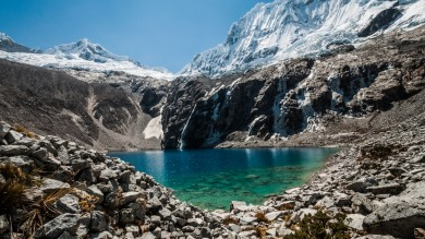 Laguna 69 day hike is one of the famous hiking trails in Peru