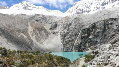 Laguna 69 is one of the famous Cordillera trekking and hiking trail