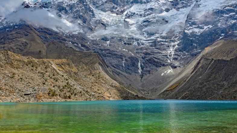 Laguna Churup day hike is a good acclimatisation hike