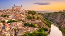 Toledo is one of the most popular tourist destinations in Spain. Located just 70 kilometers south of the Spanish capital of Madrid, Toledo is a walled city.