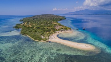 Menjangan is a piece of secluded island perfect for a getaway from Bali's mainland.
