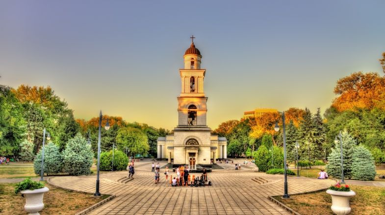The Bell Tower is a photogenic place to visit while holidaying in Moldova