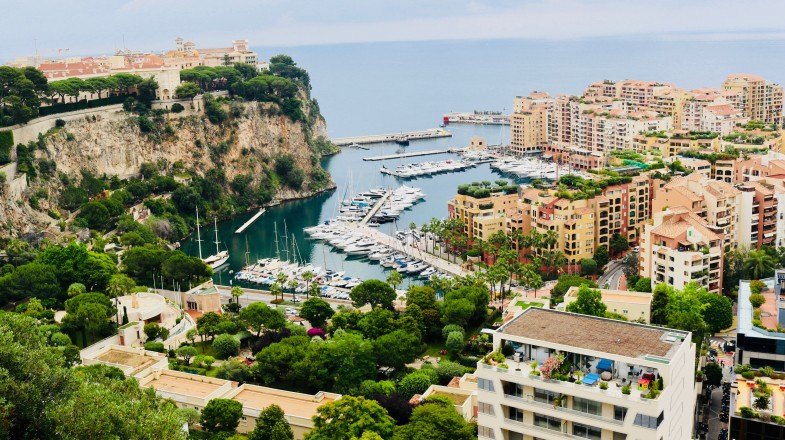 Monaco is a small city known for its lavish lifestyle and casinos.