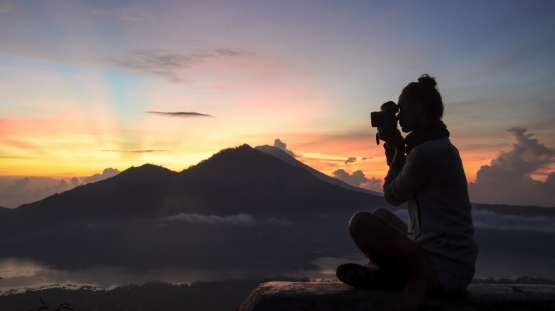 Mount Batur hike is one of the most popular hikes in Bali