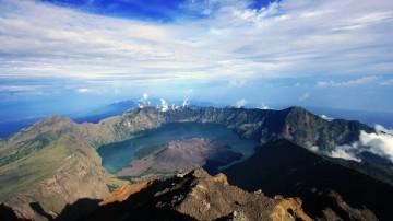 Mount Rinjani trek will make you climb an active volcano in Indonesia