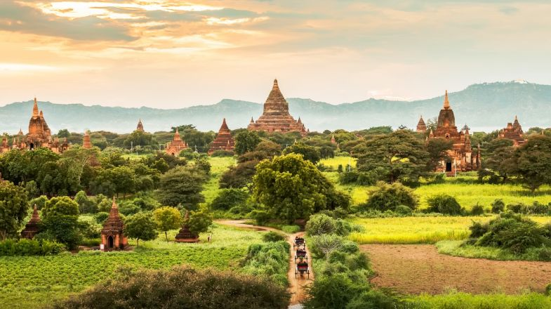 A trip to Myanmar will open you to spiritual atmosphere, whether you're visiting its traditional temples or its serene beaches.
