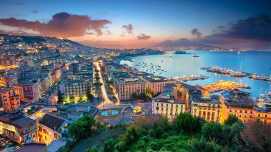 Naples is the third-largest city in Italy and the birthplace of Pizza!
