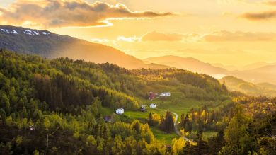 May - June is the the best time to visit Norway