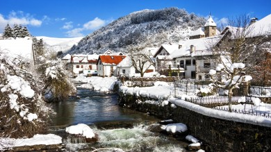 Ochagavia is a stunning tourist destination that is worth visiting when you're in Spain in winter.