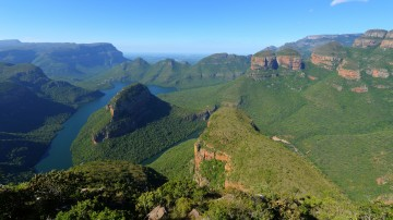 The Panorama Route is an especially picturesque stretch of road located in South Africa's Mpumalanga province.