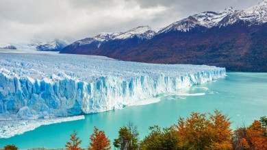 Seated the on the edge of Lago Argentino in Patagonia's Los Glaciares National Park, Perito Moreno Glacier is one of the biggest in the region.