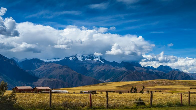 The Andes Mountains is the longest mountain range in the world.