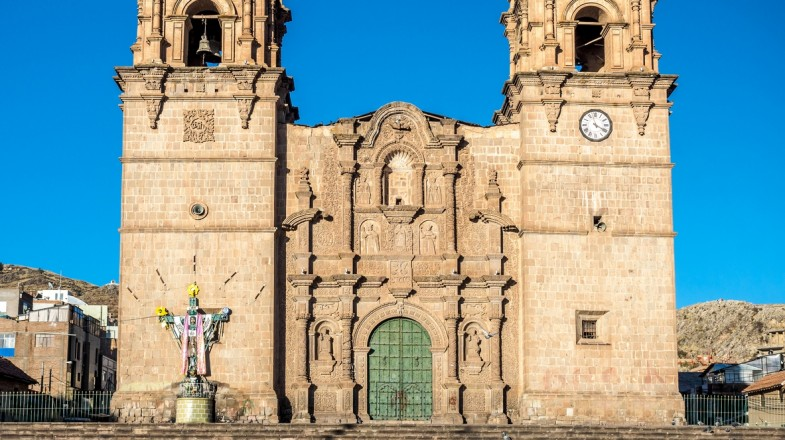 A trip to Puno will bring you it its famous landmark i.e. Puno Cathedral