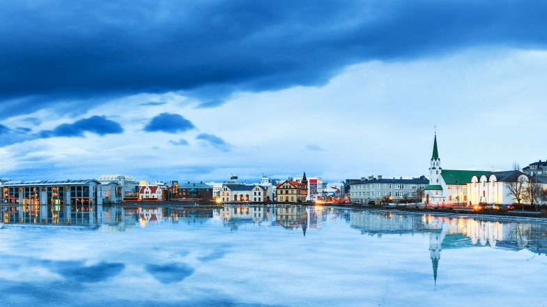 Reykjavik in Iceland - the starting point of tours and holidays.