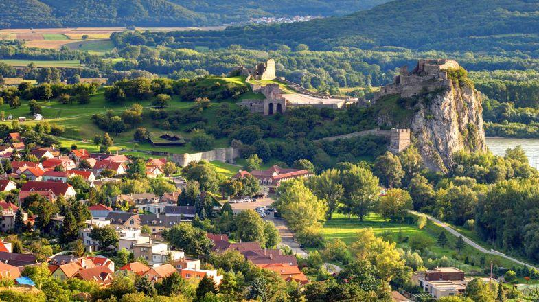 Devin Castle in Bratislava, Slovakia