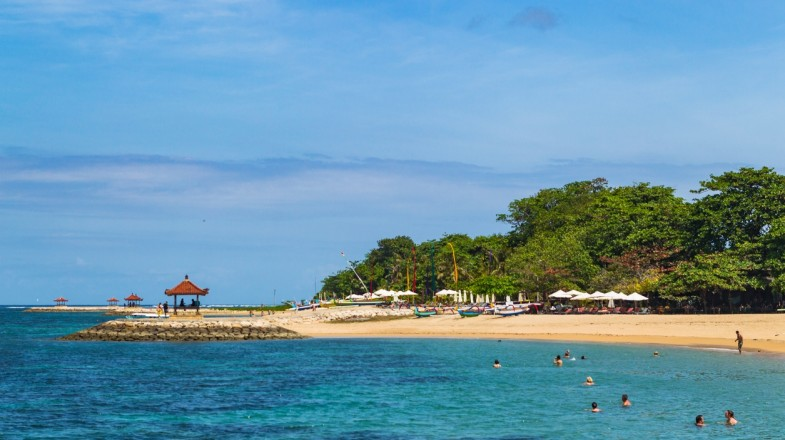 Sanur beach is a great destination to relax and unwind.