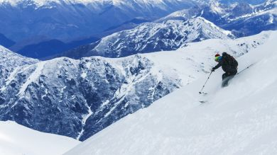 Skiing in Chile opens you to more than 10 world class ski resorts sprinkled north to south through the Andes Mountains and some volcanoes