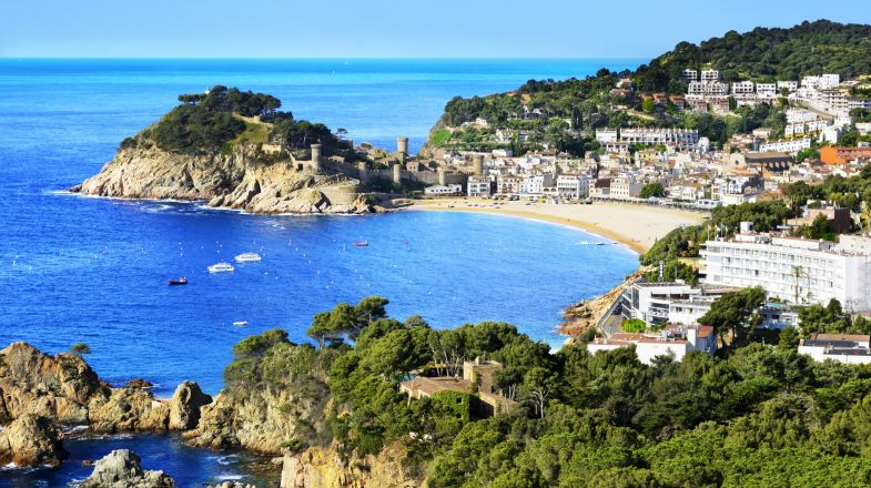 Tossa de Mar, one of the most beautiful towns in Spain
