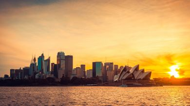 Sydney in Australia is a popular tourist attraction.