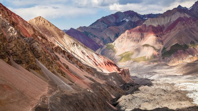 The Pamir Mountains is worth planning a holiday to Tajikistan