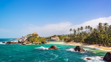 Tayrona National Park is one of the best places to visit in Colombia