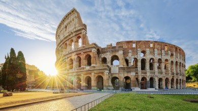 A visit to Rome without visiting the Roman Colosseum will be an incomplete one since it one of the most iconic symbols of Rome.