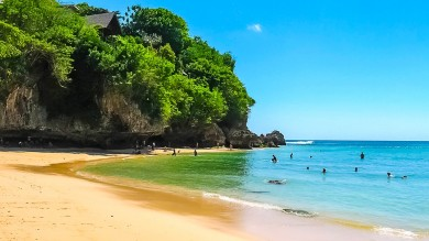 Visiting Padang Padang Beach is a top things to do in Bali