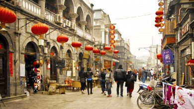 Strolling in the streets of Beijing is a fun thing to do in China