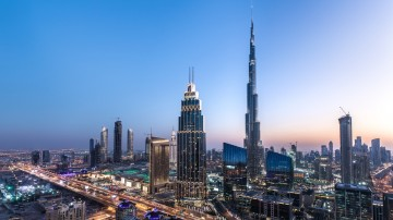 Things to do in Dubai scenic
