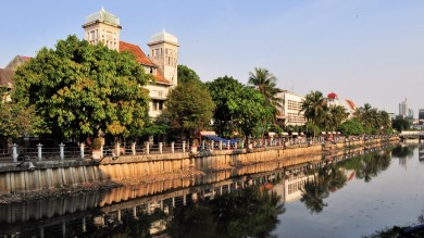 Visiting Kota is one of the top things to do in Jakarta