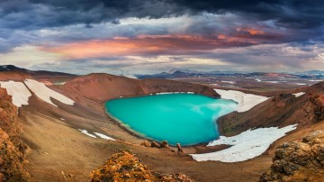 Lake Myvatn is one of the best places to visit in Iceland