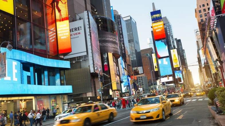 Times Square is one of the main places to visit when in New York