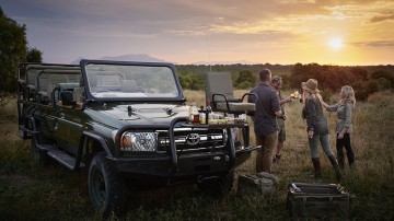 One of the many things to do in South Africa includes a luxurious safari experience in some of the best game reserves.