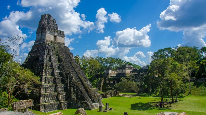Holidays in Guatemala should include a visit to the Tikal ruins