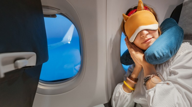 Sleeping on a plane isn't difficult if these steps are followed
