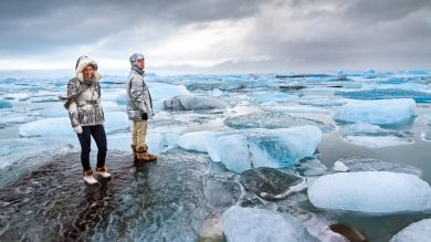 Iceland's Jokulsarlon Glacier Lagoon