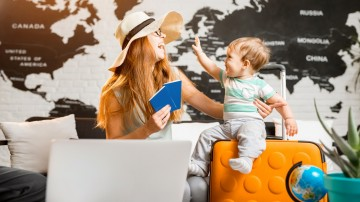 Traveling with a baby or a toddler gives new perspectives on the places you visit.